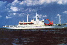 1984年中国第一支南极考察队出发