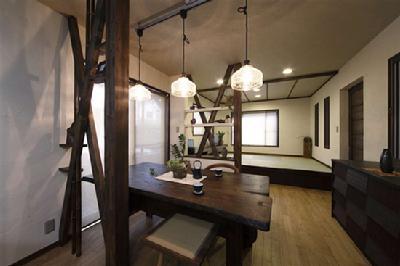 装修案例:日本105平房尽显古朴禅风装饰-中国搜索