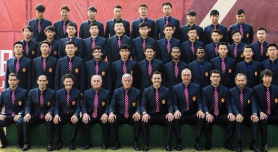 广州恒大淘宝队球员名单 飞机将再次启航